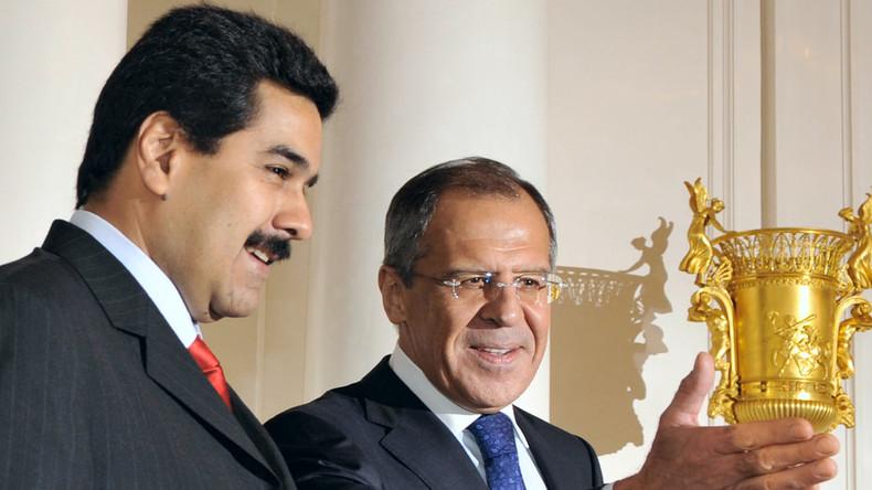 Lawrow: USA nehmen offen Kurs auf Regime Change in Venezuela