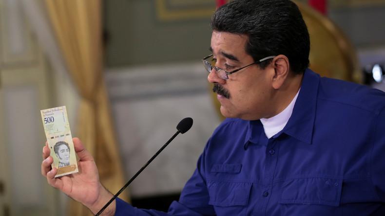 Krisenmanagement in Caracas: Venezuela wertet Währung ab und gleicht sie dem Schwarzmarkt an