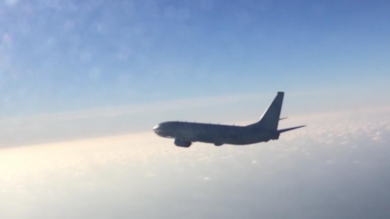 """Ostsee: Russischer Kampfjet fängt US-""""Überwachungsflugzeug"""" ab"""