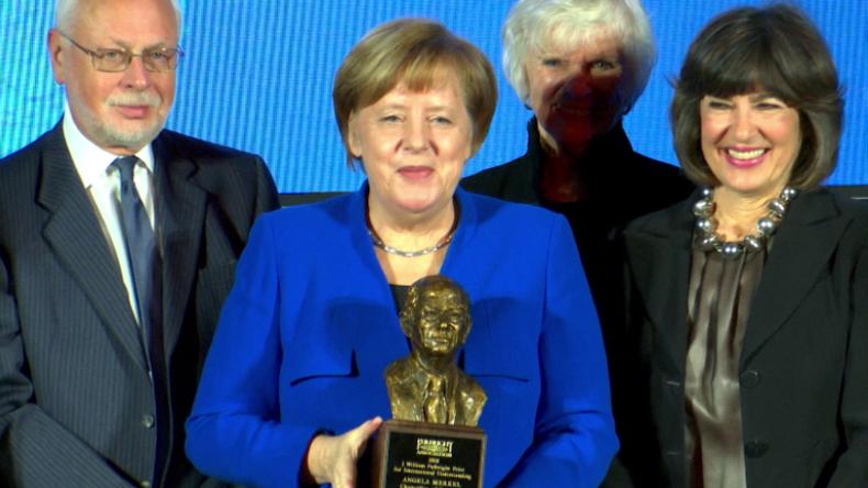 """Merkel: """"Deutschland ist in Afghanistan, um auch US-Interessen zu verteidigen"""""""