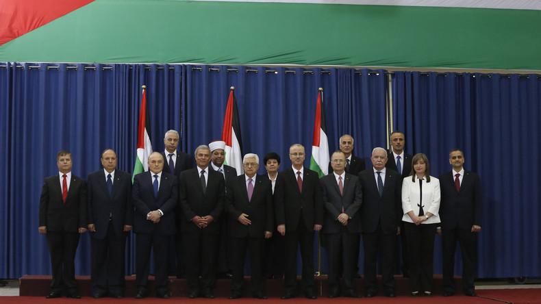 Palästinensischer Ministerpräsident Hamdallah reicht Rücktritt ein