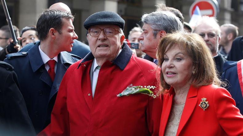 Ehefrau des Front National-Gründers Jean-Marie Le Pen in Paris beraubt und verprügelt