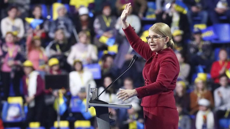Ukraine: Umfrage zeigt Timoschenko als Spitzenreiterin im Präsidentschaftswahlkampf