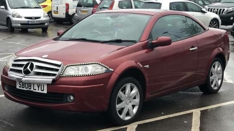 Pimp My Ride: Brite dekoriert seinen Renault Mégane als Mercedes und scheitert beim Parken