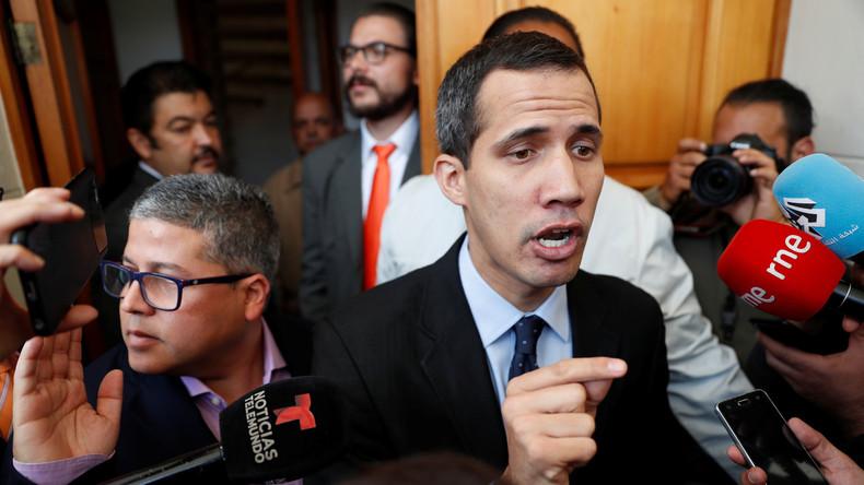 Guaidó: EU sollte Sanktionen gegen Venezuela erlassen