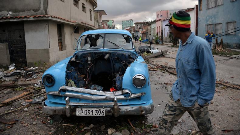 Mächtiger Tornado verwüstet Kubas Hauptstadt