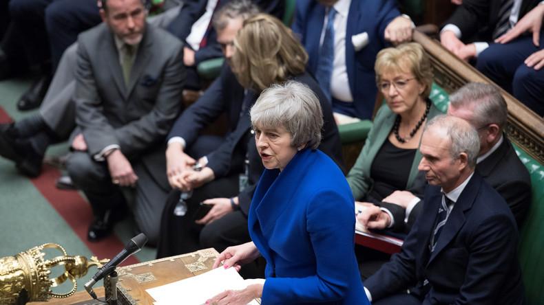 LIVE: Theresa May stellt sich Fragen der Abgeordneten im britischen Unterhaus