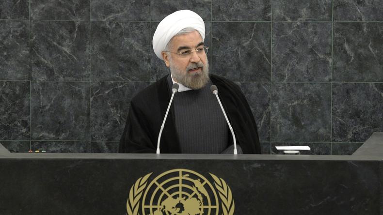 Iranischer Präsident: Die schlimmsten Sanktionen seit 40 Jahren