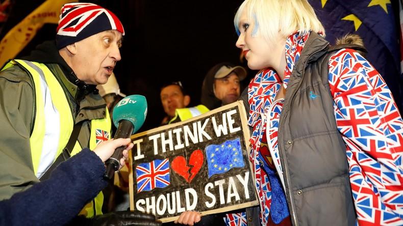LIVE: Parlamentssitzung zum Brexit im EU-Parlament in Brüssel