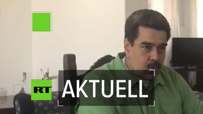 """Maduro: """"Ich nehme meine Verantwortung als Oberbefehlshaber gemäß der Verfassung wahr"""""""