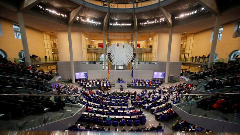 Sondersitzung des Deutschen Bundestags zum Gedenken an die Opfer des Nationalsozialismus