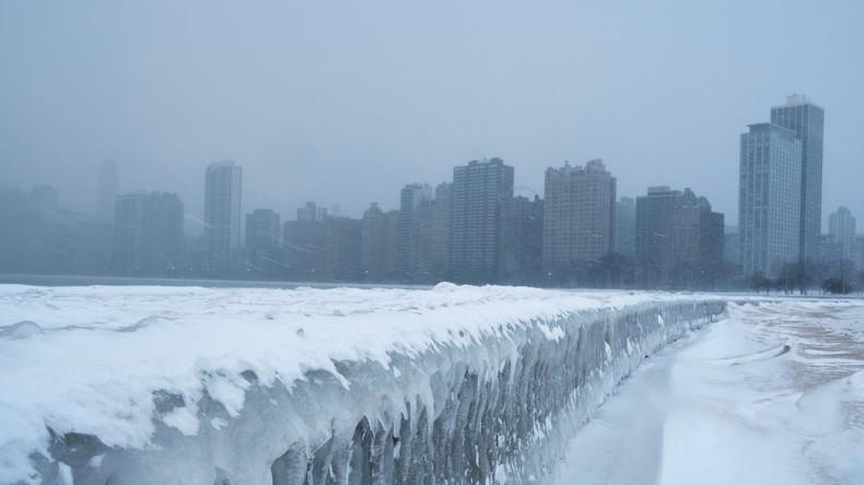 Fast 40 Grad unter Null: Eiseskälte in USA kostet mindestens acht Menschenleben