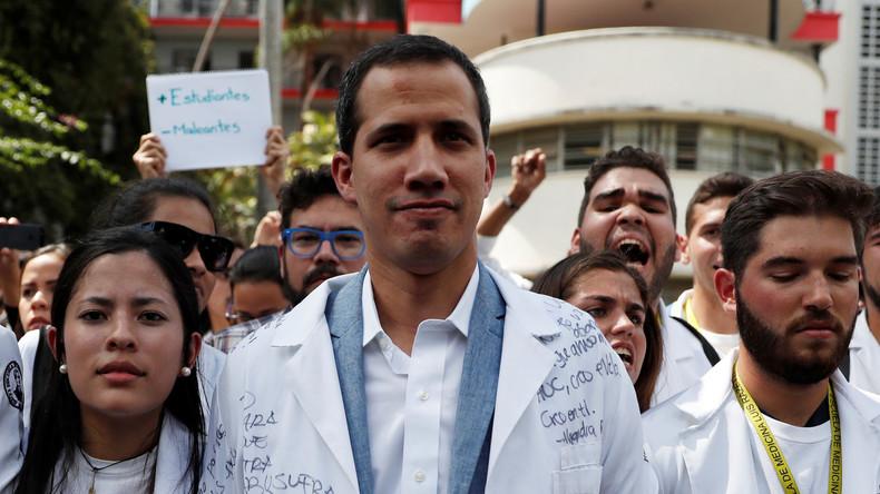 "Venezuela: Trump gratuliert Guaidó zu ""Amtsübernahme"" – Wird Goldman Sachs der große Gewinner?"
