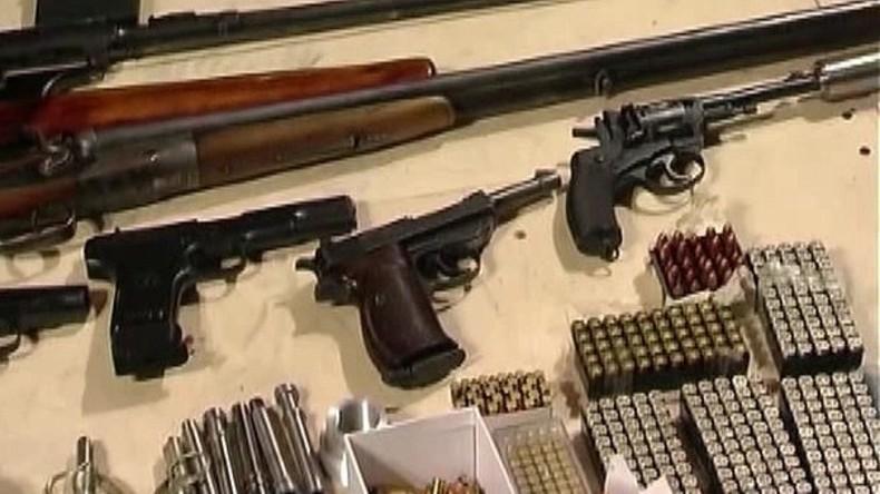 FSB hebt Waffenschmuggler-Ring aus – Lieferungen aus der EU unterbunden