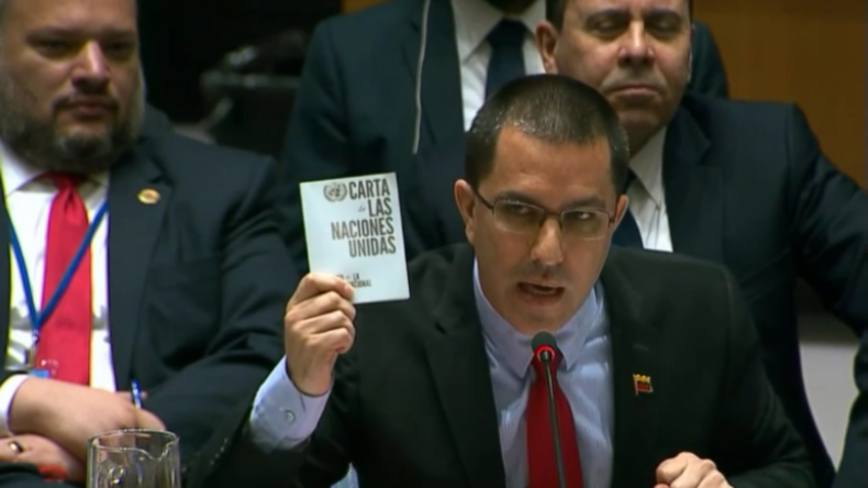 """Venezuelas Außenminister: """"Macron, kümmer dich um die Gelbwesten - USA gehören unter UN-Beobachtung"""""""
