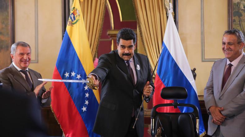 Kreml: Russland wird seine Ölvorräte in Venezuela verteidigen