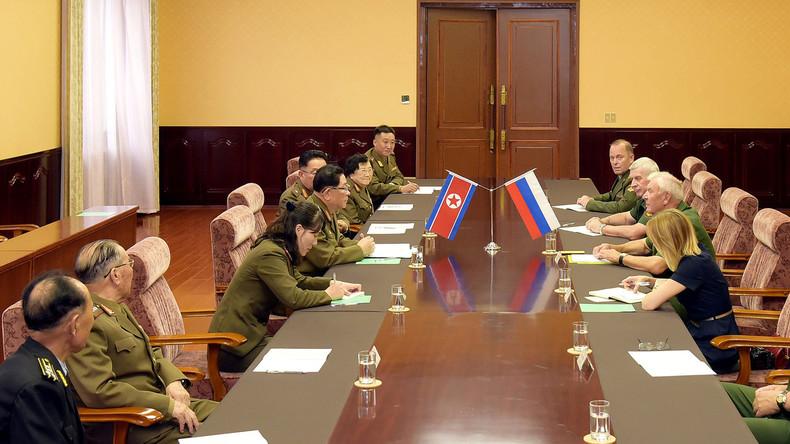 """Falschnachrichten über Russland: Angebot einer Nuklearanlage für Nordkorea reine """"Fiktion"""""""
