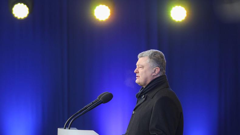 Behörde für Staatssicherheit: Elf Attentatsversuche auf Petro Poroschenko im Jahr 2018 vereitelt