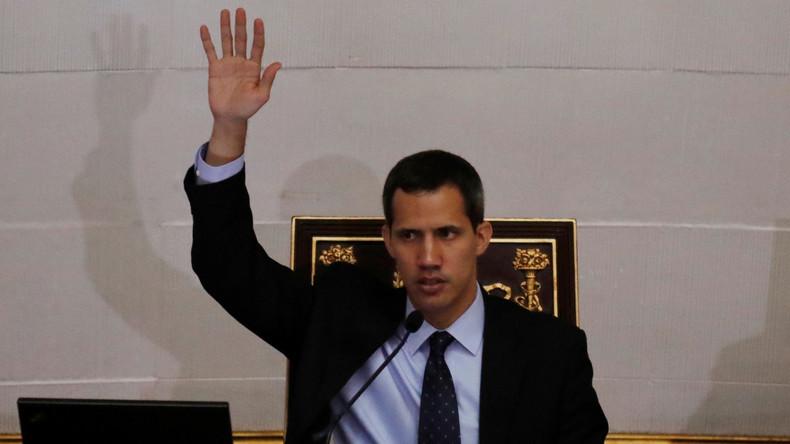 Venezuela: USA geben Juan Guaidó Sicherheitsgarantien (Video)