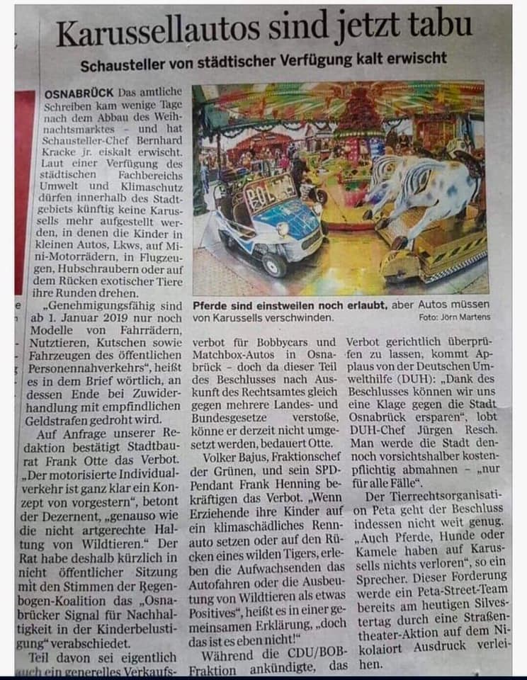 Geil auf Empörung – oder wie die Neue Osnabrücker Zeitung unfreiwillig den Nerv der Zeit traf