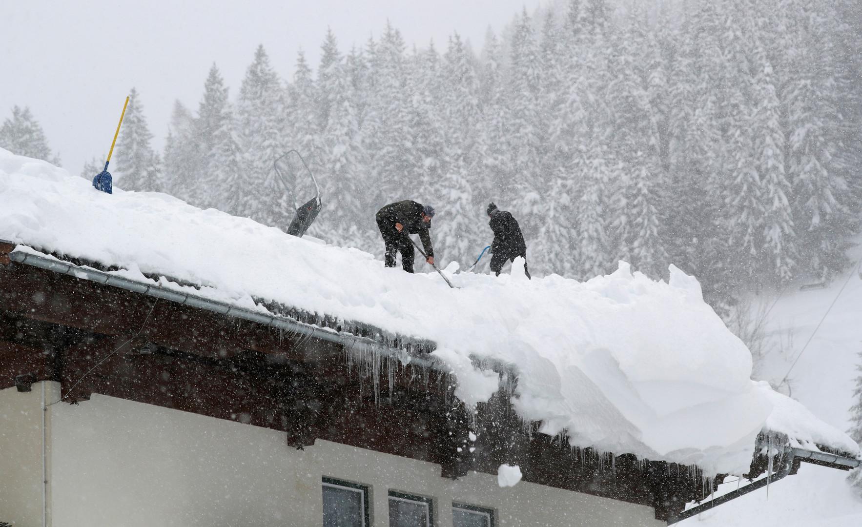 Kurze Ruhe vor dem nächsten Schneesturm: Neue heftige Schneefälle an den Alpen erwartet