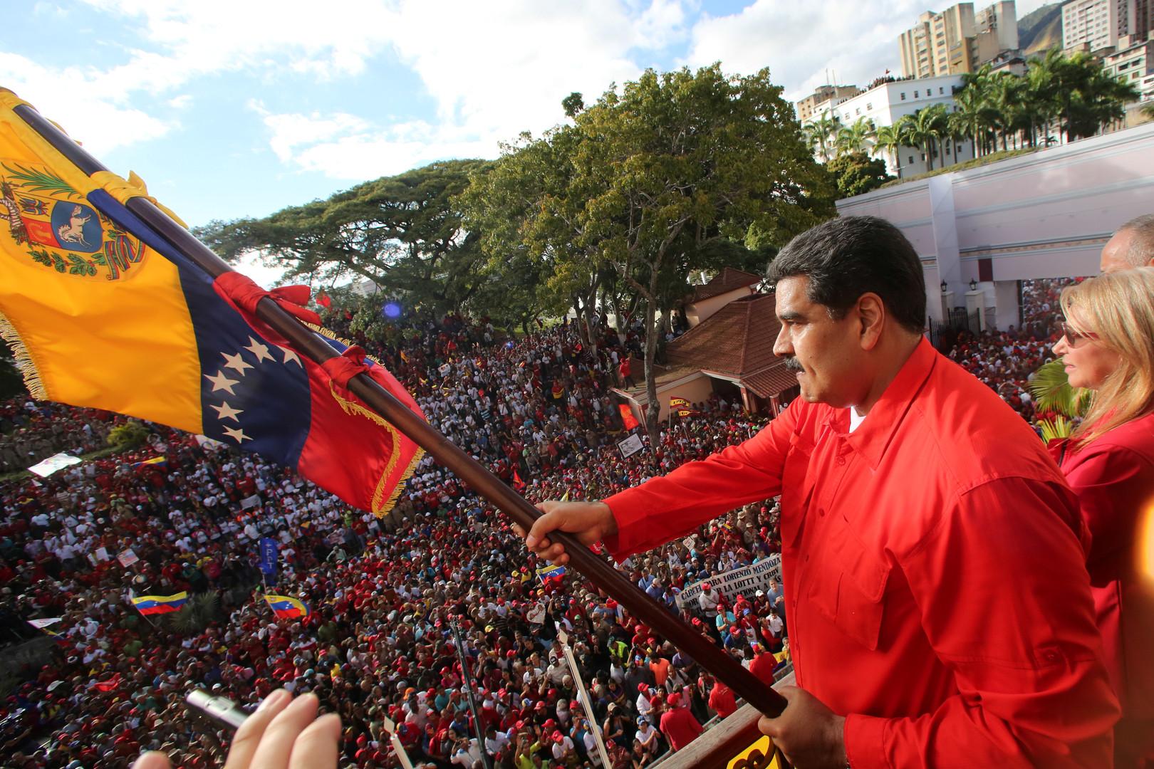 Der amtierende Präsident Venezuelas Nicolás Maduro.