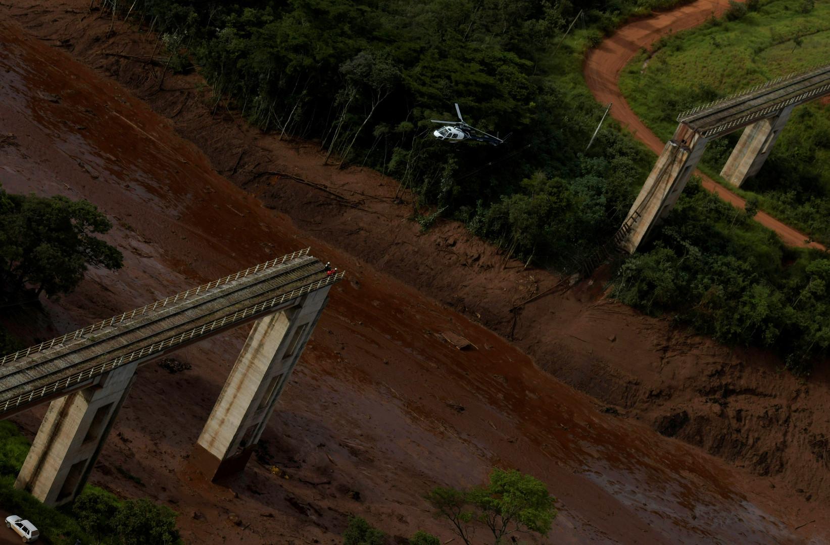 Staudamm an Eisenerzmine in Brasilien gebrochen: Mindestens neun Tote, 150 Vermisste