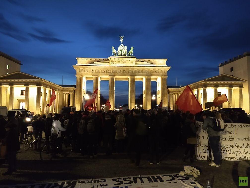 Berlin: Protest gegen US-Putschversuch in Venezuela