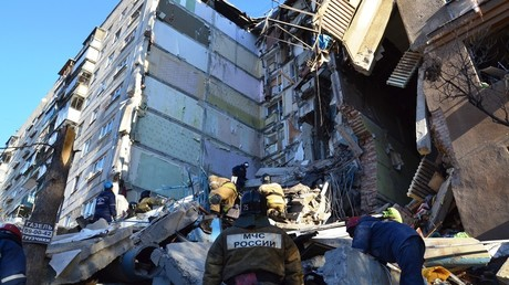 Rettungskräfte unterbrechen Bergungsoperation in Magnitogorsk: Einsturzgefahr nach Gasexplosion