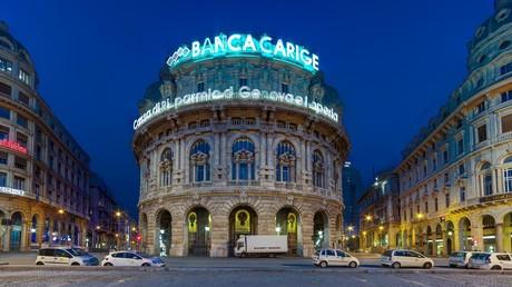 Banca Carige, Genua, Italien.