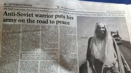 Unter den US-finanzierten Mudschaheddin, die die Sowjets in Afghanistan bekämpften, war auch Osama bin Laden. Noch 1993 wurde er vom