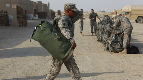 Symbolbild: US-Soldat auf der Ali Air Base nahe Nasiriya, Irak, 15. August 2010.
