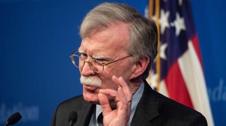 John Bolton, nationaler Sicherheitsberater der USA, spricht bei der Heritage Foundation in Washington, DC, über die afrikanische Politik der Regierung, 13. Dezember 2018.
