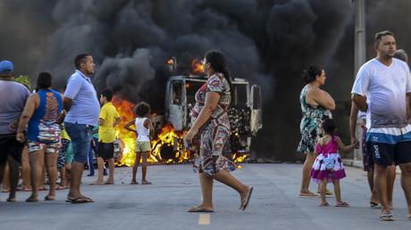 Zahlreiche Brandanschläge krimineller Banden in Nordbrasilien
