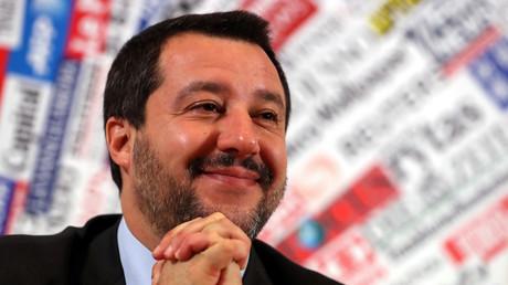 Macht sich in Paris gerade keine Freunde: Der italienische Innenminister Matteo Salvini.