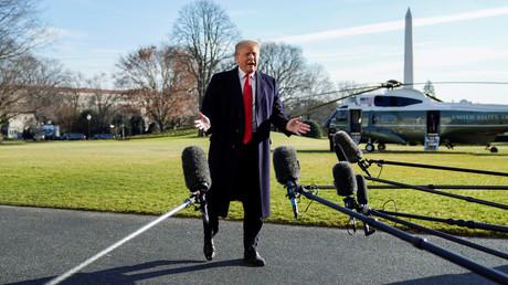 US-Präsident Donald Trump erntet Kritik für seinen Schlingerkurs in Syrien.