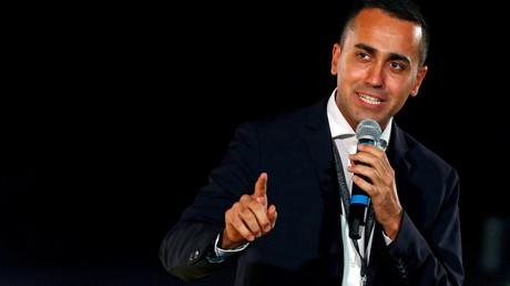 Luigi di Maio ist Minister für wirtschaftliche Entwicklung in der italienischen Regierung.