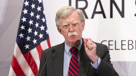 John Bolton auf einem Kongress der anti-iranischen Lobbyorganisation
