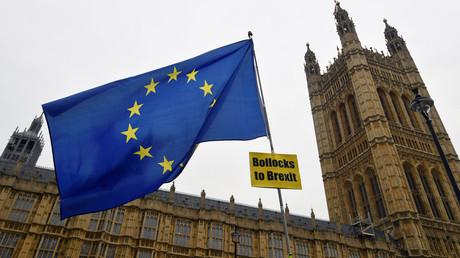 Während die Abgeordneten heute über den Brexit-Deal im Parlament abstimmen, machen Gegner und Befürworter des EU-Austritts davor mobil.