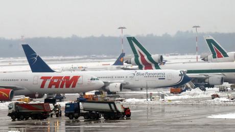 Mailänder Flughafen gesperrt, nachdem Ägypter aus Flugzeug springt (Archivbild)