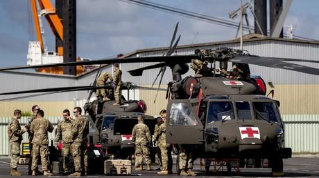 US-Truppenverlegung nach Europa im