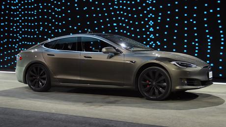 Ganz nett, aber sicher nicht das Auto der Zukunft: Ein Tesla Model S