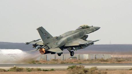 Ein F-16-Kampfjet der emiratischen Luftwaffe.