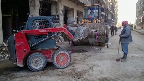 In Aleppo, Archivbild (2017)