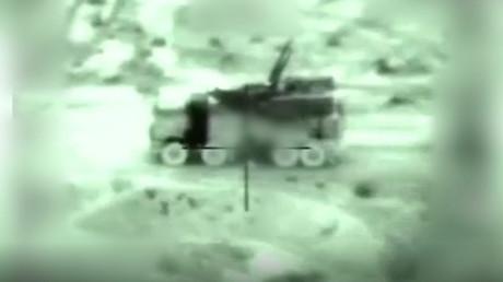 Wurde laut israelischem Militär bei Angriff auf Syrien zerstört: Eine Einheit des  Flugabwehrraketen-Systems Panzir.