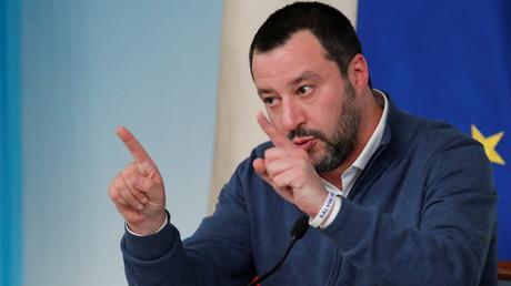 Innenminister Matteo Salvini, Rom, Italien, 14. Januar 2019.