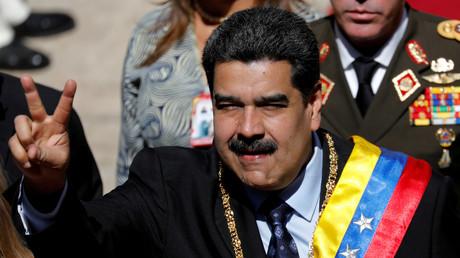 Zeigt sich trotz aller inneren und äußeren Widerstände siegesgewiss: Venezuelas Präsident Nicolas Maduro