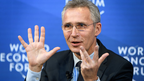 Sehr viel Geld ... Bis Ende 2024 sollen die NATO-Mitglieder ihre Rüstungsausgaben auf 350 Milliarden US-Dollar erhöhen, was NATO-Generalsekretär Jens Stoltenberg auf dem Weltwirtschaftsforum in Davos sichtlich Freude bereitete.