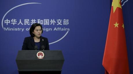 Hua Chunying, die Sprecherin des chinesischen Außenministeriums