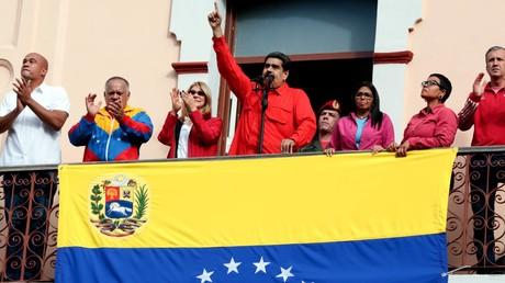 Vor den Augen der Weltöffentlichkeit vollzieht sich derzeit in Venezuela ein offener US-Putsch.